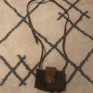 Calvin Klein Brown Crossbody Bag